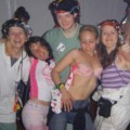 College initiations: party nudity. part 6.