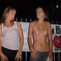 Party: wet t-shirt contest