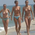 Amateurs: topless beach. part 4.
