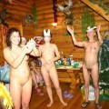 Russian Party Nudist New Year  - 14