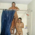 Young amateur girls in the shower no.08