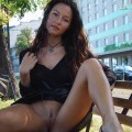 Very hot girl - outdoor naked