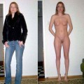 Clothed and naked amateurs 5