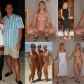Clothed and naked amateurs 3
