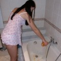 Nice ex girl chantal in bath