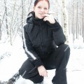 Nice ex girl chantal in snow