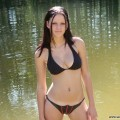 Nice ex girl chantal at the lake