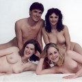 Amateur family nudity