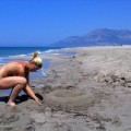 German girl and her Turkish holiday ( Nudist pics  - 15