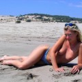 German girl and her Turkish holiday ( Nudist pics  - 32