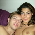 French amateur couple posing and having naughty