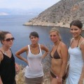 German class trip to greece with some sexy chicks