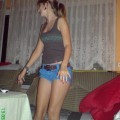 Sexy Girl in hei�er Unterw�sche