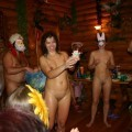 Russian nudist new year