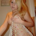 Girlfriend in fishnet
