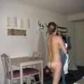 Blondes Amateur Girl zeigt sich gerne nackt vor der Kamera