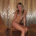 Naked blonde russian girl