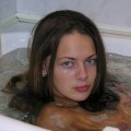 Russian sluty girl tania in bathroom