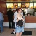Amateur teen in public