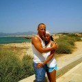Amateur couple on holiday