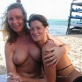 Beach amateurs topless - young girls no.07
