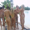 Girls gone wild - group shower