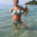 Amateur girlfriend on holiday