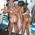 Young girls at party- drunk teenagers 25