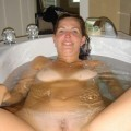 Young amateurs girl in bath no.03