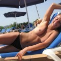 Summer near the rivers, lake.. - topless pics 02