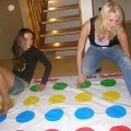 Amateurs girl play sexy twister