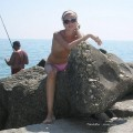 Beach amateurs topless - young girls no.08