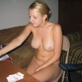 Swedish strip poker chick