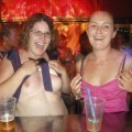 Topless titties in downtown bars