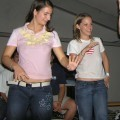 College girls and students wet tee shirt party