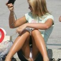 Upskirt pictures for real voyeur