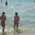 Teen on nudist beach holiday amateur set