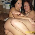 Young mom & lesbian friend