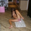 Amazing hootie brunette love pink things