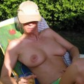 Gorgeous milf wife naked on holiday house