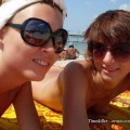 Beach amateurs topless - young girls no.09