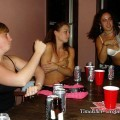 Amateurs girl playing strip poker no.01