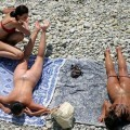 Beach voyeur - couples having fun fuck - 10