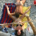 Beach voyeur - couples having fun fuck - 32