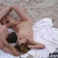 Beach voyeur - couples having fun fuck - 24