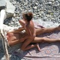 Beach voyeur - couples having fun fuck - 19