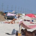 Beach voyeur - couples having fun fuck - 22