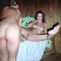 Russian sauna - girls have a good time - 02