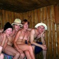 Fun in russian sauna - serie 01