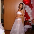 Russian amateur girl serie 289 - bride